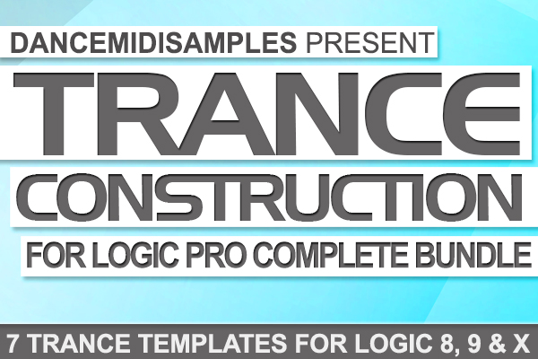 DMS Trance Construction For Logic Pro Complete Bundle