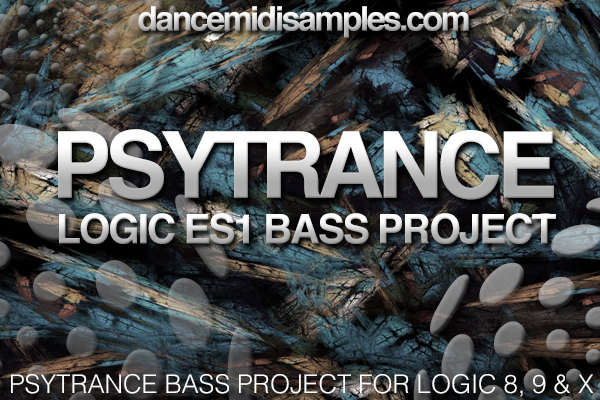 DMS PSYTRANCE BASS LOGIC TEMPLATE PLUS ES1 PRESETS