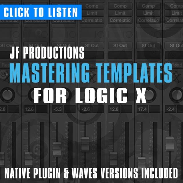 logic pro x mastering